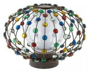 Eglo EGLO 91716 - CADELLA kültéri lámpa 1xE27/22W barna EG91716