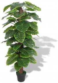 vidaXL műtaró virágcseréppel 145 cm zöld