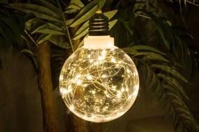 Karácsonyi LED világítás - 40 LED, meleg fehér