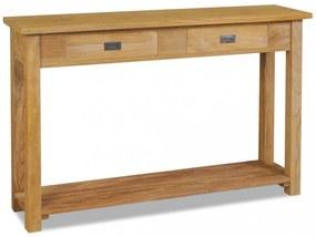 Tömör tíkfa tálalóasztal 120 x 30 x 80 cm
