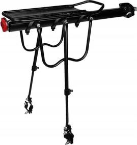 ISO Hátsó kerékpártartó 50 kg - fekete, 14851