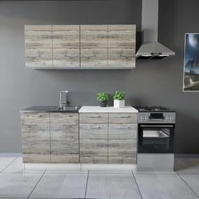 Tisza konyhabútor 160 cm Palatölgy