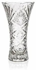 Banquet Aisha üvegváza, átlátszó, 23 cm