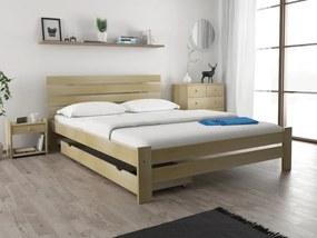 Magnat PARIS magasított ágy 120 x 200 cm, fenyőfa Ágyrács: Ágyrács nélkül, Matrac: Coco Maxi 23 cm matraccal