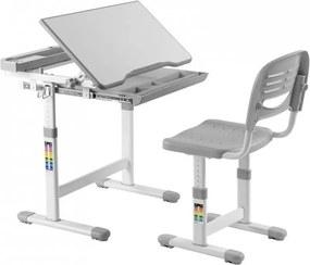 FD Kantare növekvő íróasztal és szék Szín: Szürke
