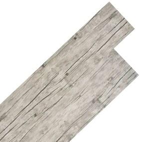 vidaXL világos tölgyfa színű 2 mm-es PVC padlóburkolat 5,26 m²