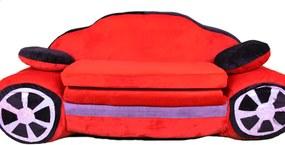MBABY Maxi kinyitható gyerek kanapé Autó