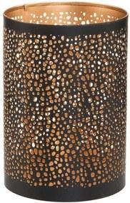 LUMINOUS mécsestartó pöttymintás, 15 cm