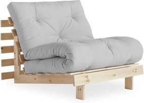 Roots Raw/Light Grey variálható fotel - Karup Design