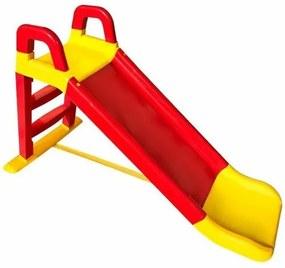 Doloni gyermek csúszda, piros-sárga, 140 x 85 cm