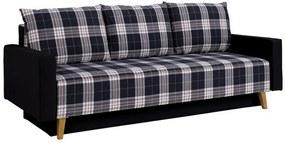 MAYA ágyazható kárpitozott kanapé, 215x86x95, lobox 05/gomez 12