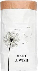 Make a Wish újrahasznosított papírból készült tárolókosár - Surdic