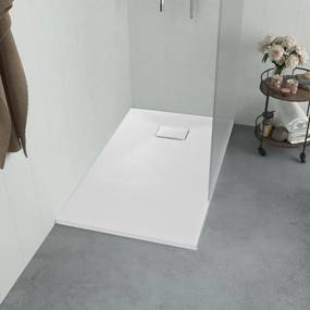 Fehér smc zuhanytálca 100 x 70 cm