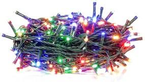 Retlux RXL 209 karácsonyi fényfüzér 150 LED 15+5m, színes / multicolor