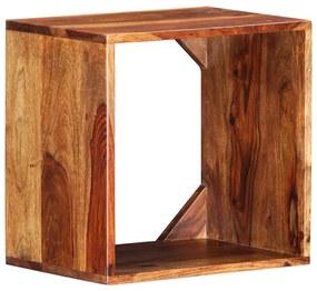 vidaXL tömör kelet-indiai rózsafa kisasztal 40 x 30 x 40 cm