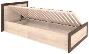 BOSS BS-19 90-es ágy, ágyráccsal
