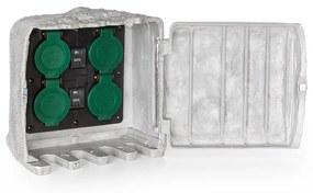 Power Rock Twilight 1, 4 x kerti aljzat, IP44, sötétedés érzékelő