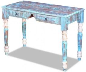 Tömör újrahasznosított fa íróasztal
