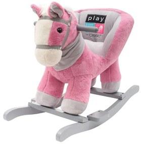 PLAYTO | PlayTo Hintázó játékok | Hintajáték dallammal PlayTo rózsaszín lovacska | Rózsaszín |