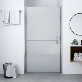 Matt edzett üveg zuhanyajtó 100 x 178 cm