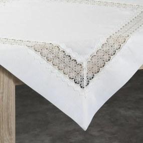 Verona csipkés asztalterítő Natúr 85 x 85 cm - HS335247