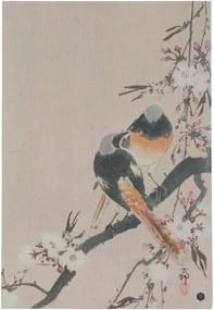 Pinktails poszter kézzel készített papírból, 47 x 32 cm - BePureHome