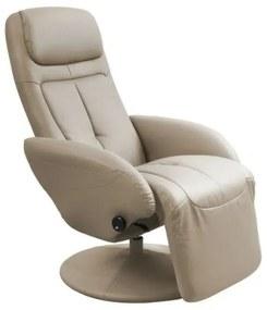 OPTIMA relax fotel, cappuccino