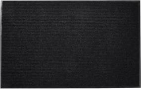 Fekete pvc lábtörlő 120 x 180 cm