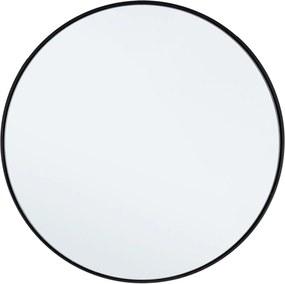 NUCLEOS fekete keretes tükör 50cm átmérő