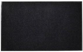Fekete pvc lábtörlő 90 x 150 cm