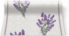 P.W.ATR002500 Lavender for You papír asztali futó 480x33cm