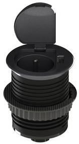 Solight Solight PP122 - USB Beépített konnektor fedővel 230 V SL0247