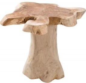 Root 40cm asztalka/ Teak