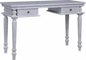 Tömör mahagóni íróasztal 120 x 50 x 78 cm