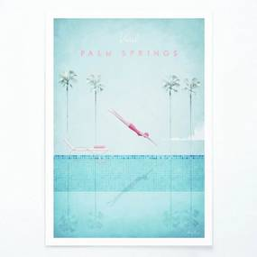 Palm Springs poszter, A2 - Travelposter