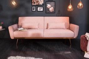 BELLEZZA modern kanapé - 208cm - pink