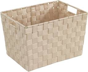 Adria bézs tárolókosár, 25,5 x 35 cm - Wenko