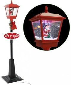 Karácsonyi utcai lámpa mikulással led 180 cm