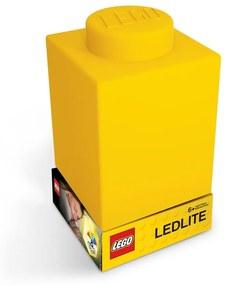 Classic Brick sárga szilikon világító éjjeli lámpa - LEGO®
