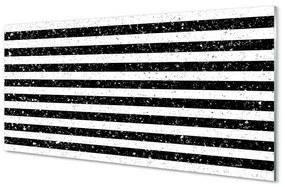 Akrilképek Foltok zebra csíkos 140x70 cm