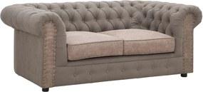 CHESTER bézs műbőr kanapé