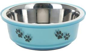 Etetőtál kutyáknak kék, 300 ml