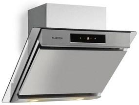 Balzac 60, páraelszívó, 60 cm, 210 W, 640 m³/h, LED, érintőpanel, rozsdamentes acél, üveg