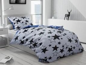 Star fehér pamut ágyneműhuzat