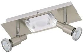 Briloner Briloner 2879-032 - LED Mennyezeti lámpa COMBINATA 2xGU10/3W + LED/5W/230V BL0379