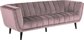 Háromszemélyes kanapé Raquel rózsaszín