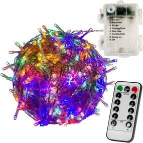 RMT elem fényfüzér VOLTRONIC® - 10m/100x LED színes