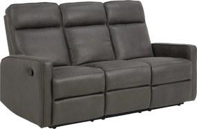 Stílusos 3-személyes kanapé Nile szürke