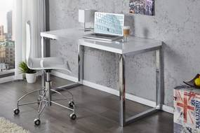 Desk íróasztal 120x 60cm fehér
