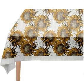 Sunflower asztalterítő, 140 x 140 cm - Linen Couture